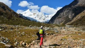 Peru hiking campo base